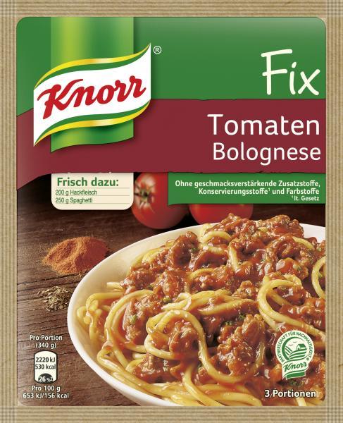 Knorr Fix Tomaten Bolognese