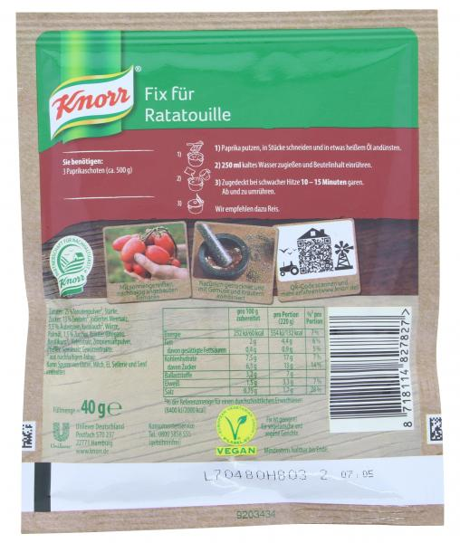 Knorr Fix Ratatouille