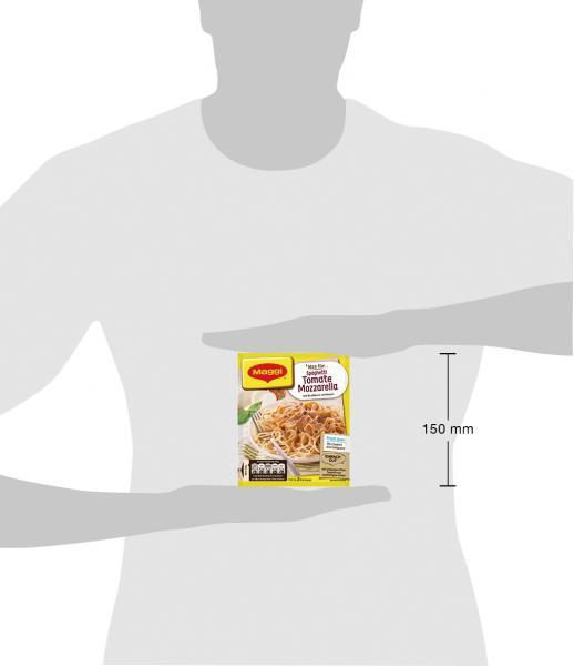 Maggi Idee für Spaghetti Tomate-Mozzarella