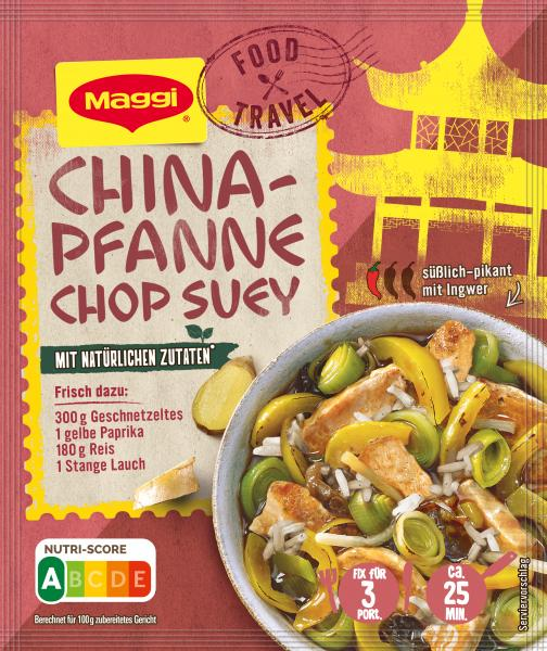 Maggi Fix für China-Pfanne Chop Suey