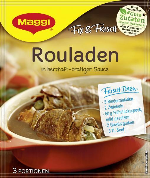 Maggi fix & frisch Rouladen