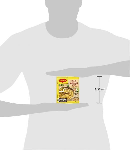 Maggi Guten Appetit, Fleischklößchen Suppe
