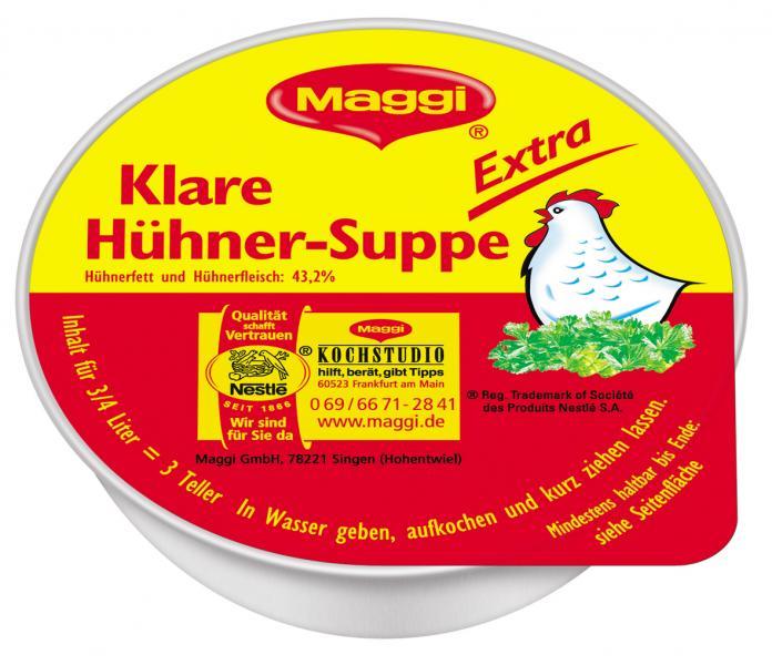 Maggi Klare Hühner-Suppe Extra