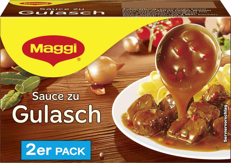 Maggi Sauce zu Gulasch Pack