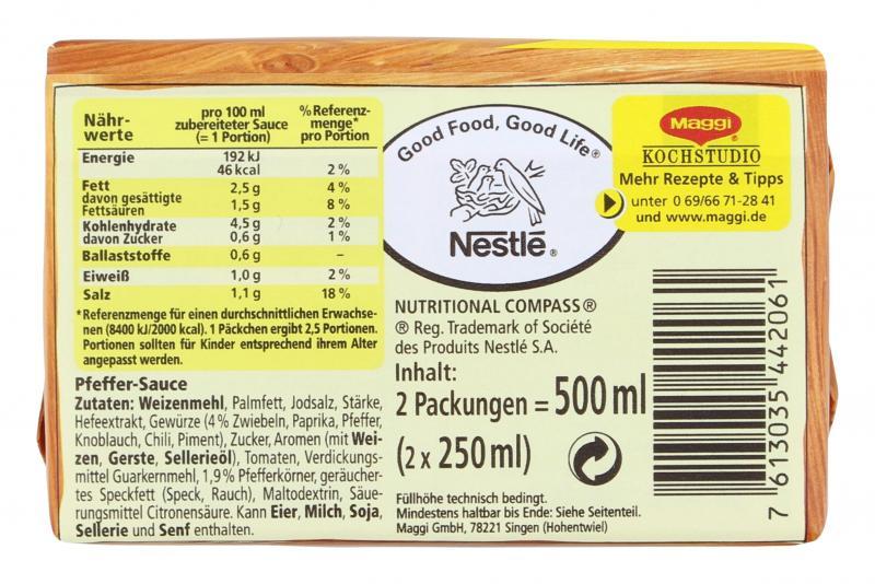 Maggi Pfeffer Sauce