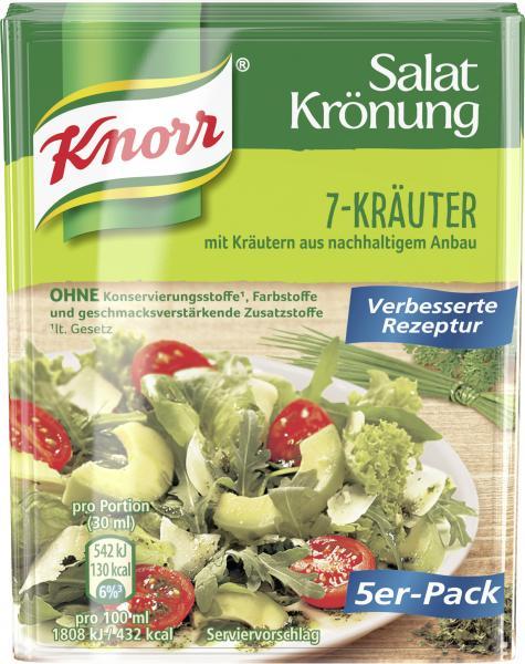 Knorr Salatkrönung 7-Kräuter