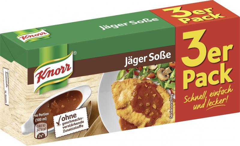 Knorr Jäger Soße