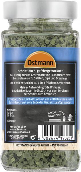 Ostmann Schnittlauch gefriergetrocknet