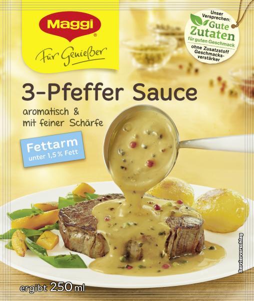 Maggi Für Genießer 3-Pfeffer Sauce fettarm