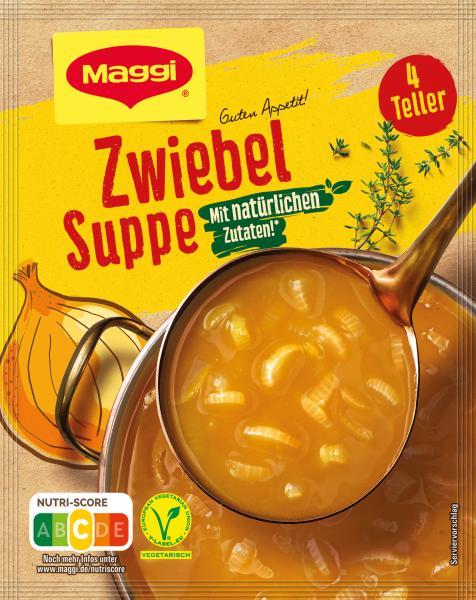 Maggi Guten Appetit, Zwiebel Suppe  ergibt