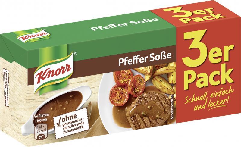 Knorr Pfeffer Soße