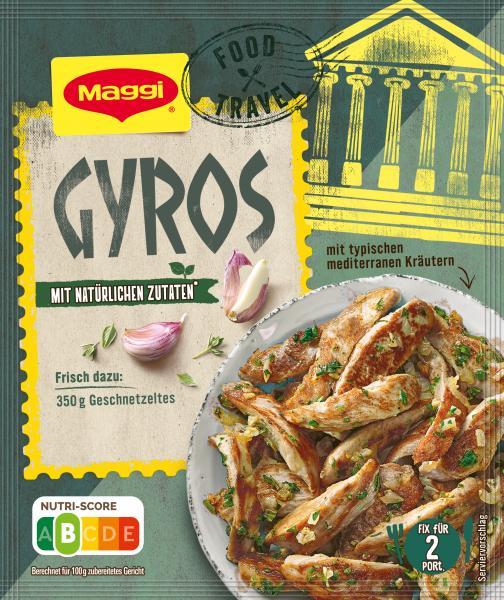Maggi Fix für Gyros