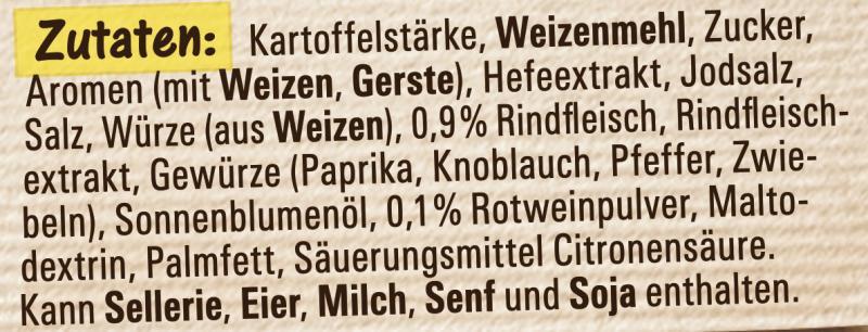 Maggi Für Genießer, Ochsenschwanz Suppe