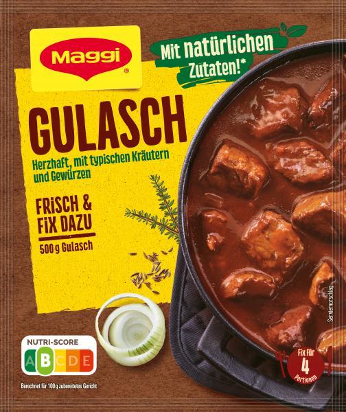 Maggi Fix für Gulasch