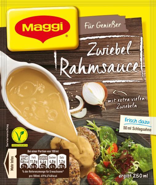 Maggi Für Genießer Zwiebel Rahmsauce