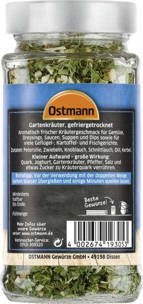 Ostmann Gartenkräuter gefriergetrocknet