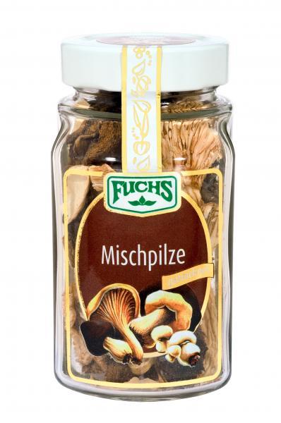 Fuchs Mischpilze getrocknet