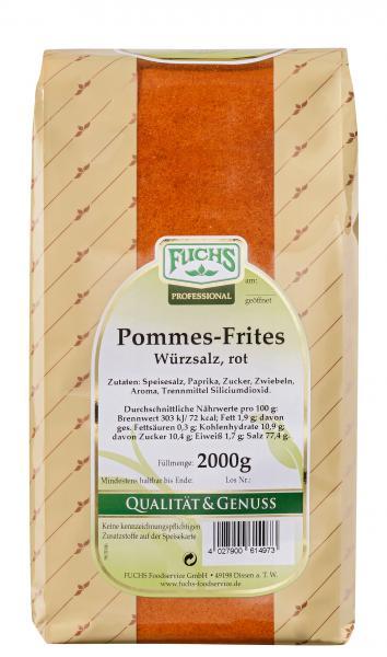 Fuchs Pommes-Frites Würzsalz