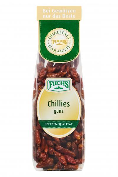 Fuchs Chillies ganz
