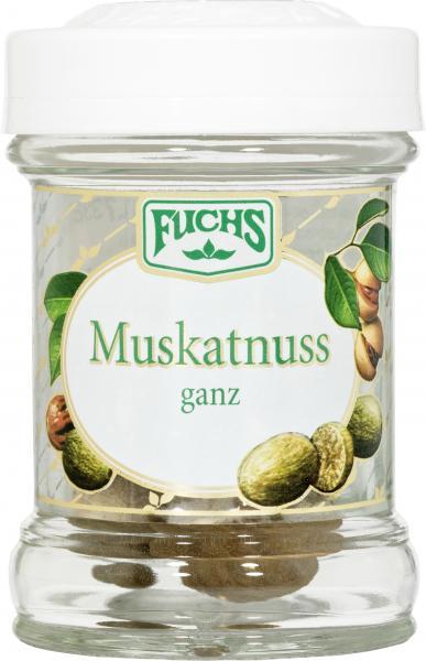 Fuchs Muskatnuss ganz