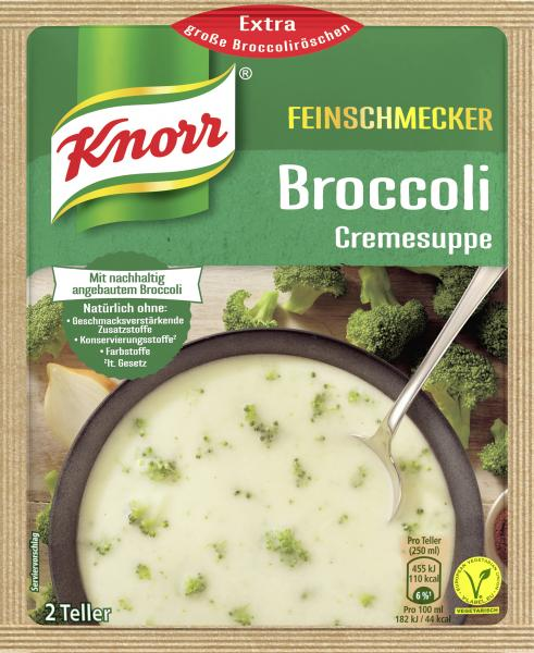 Knorr Feinschmecker Broccoli Cremesuppe