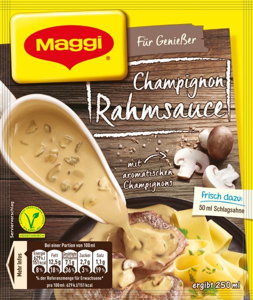 Maggi Für Genießer Champignon Rahmsauce