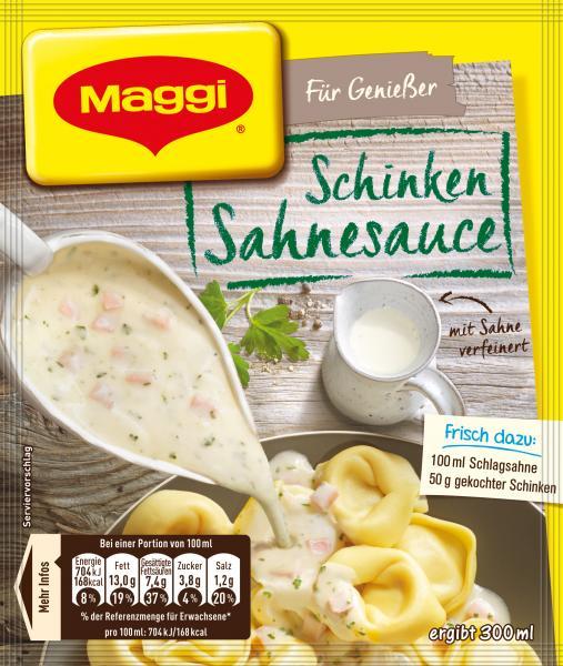 Maggi Für Genießer Schinken Sahnesauce
