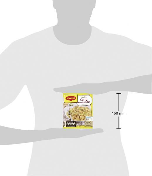 Maggi Fix für Curry Geschnetzeltes