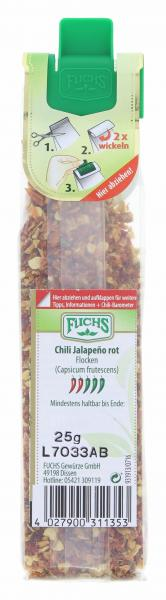 Fuchs Chilli Jalapeño Flocken