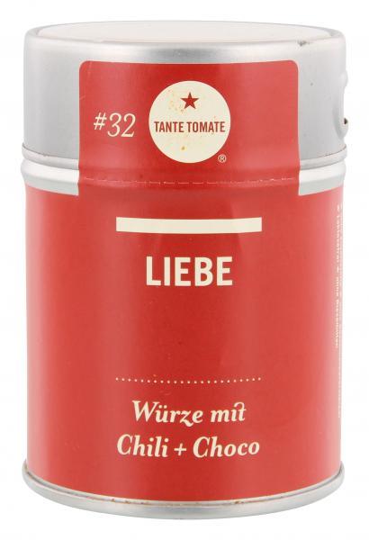 Tante Tomate LIEBE Würze mit Chili + Choco MHD 15.10.18
