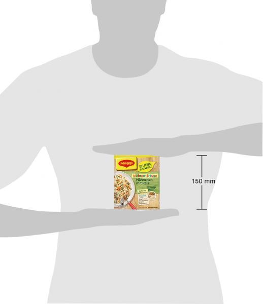 Maggi Familien Fix & Frisch Möhren-Erbsen Hähnchen