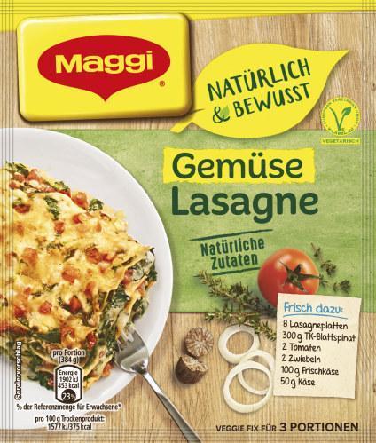 Maggi Natürlich & Bewusst Gemüse Lasagne