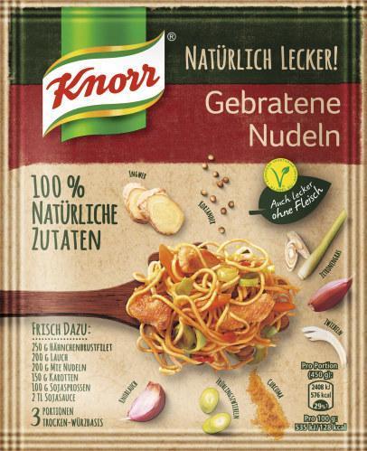 Knorr Natürlich Lecker! Gebratene Nudeln