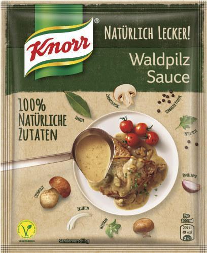 Knorr Natürlich Lecker! Waldpilz Sauce