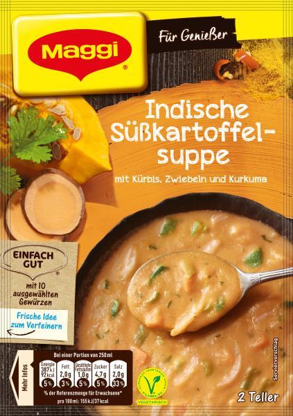 Maggi Für Genießer Indische Süßkartoffelsuppe