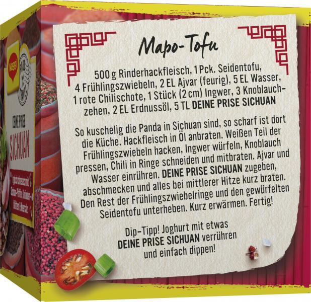 Maggi Food Travel Deine Prise Sichuan