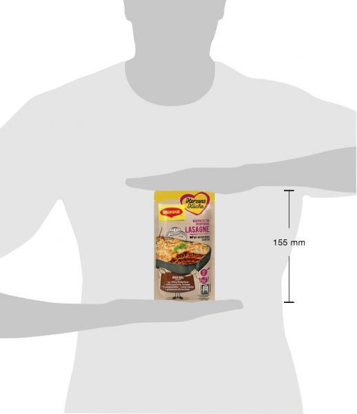 Maggi Herzensküche Würzpaste Lasagne