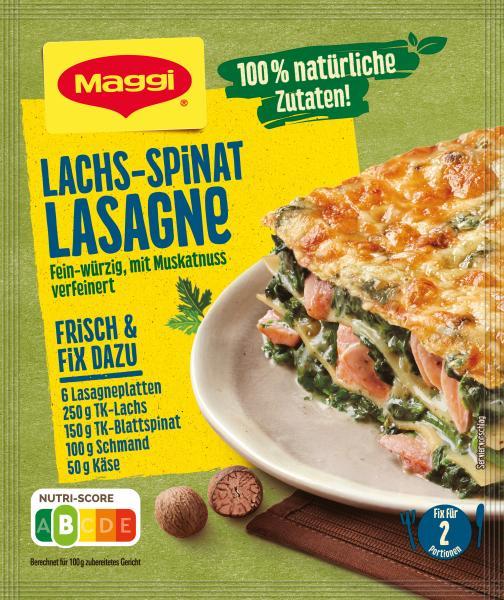 Maggi Fix für Lachs-Spinat Lasagne