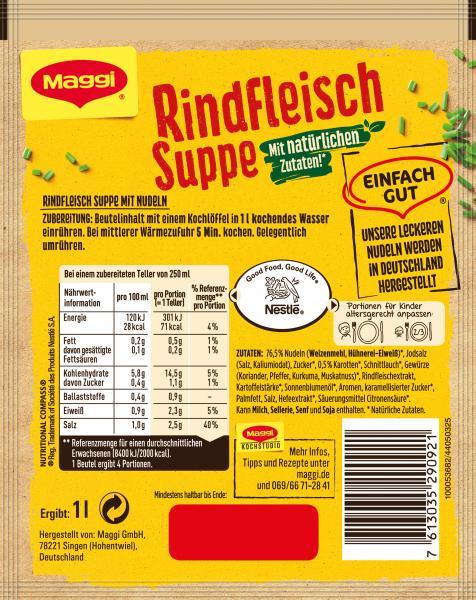Maggi Guten Appetit Rindfleisch Suppe