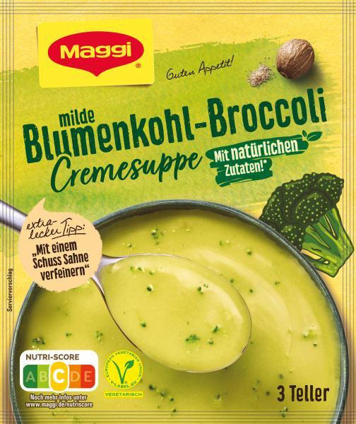 Maggi Guten Appetit Blumenkohl-Broccoli Cremesuppe