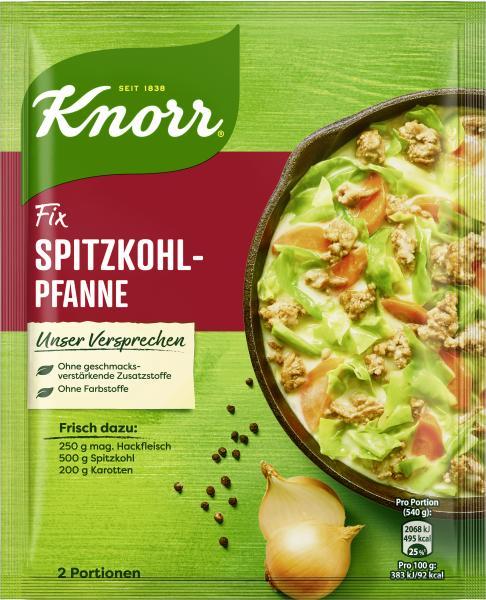 Knorr Fix Spitzkohl-Pfanne