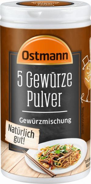 Ostmann 5 Gewürze Pulver Gewürzmischung