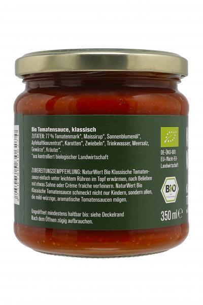 NaturWert Bio Tomatensauce mild