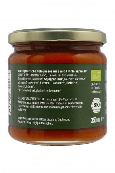 NaturWert Bio Bolognese Vegetarisch