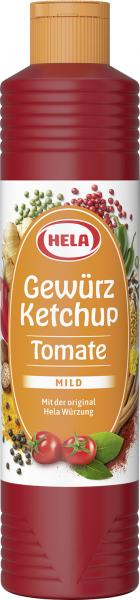 Hela Tomaten Gewürz Ketchup mild