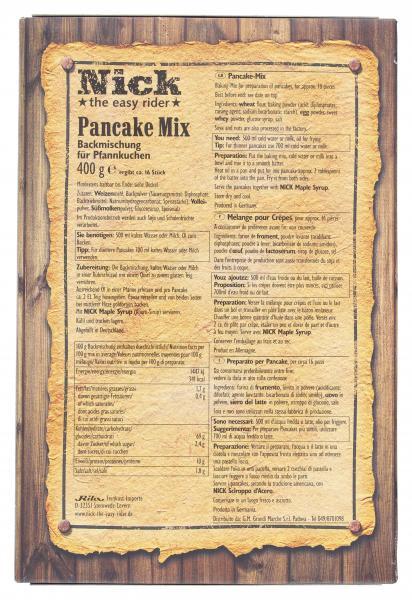 Nick Pancake Mix