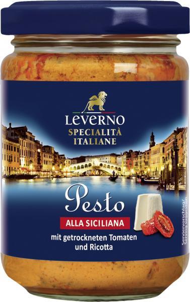 Leverno Pesto alla Siciliana mit Tomaten & Ricotta