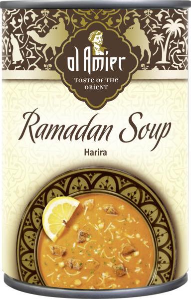 Al Amier Ramadan-Suppe Harira mit Lammfleisch
