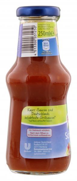 Knorr Schaschlik Sauce