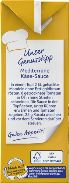 Thomy Les Sauces Käse Sahne Sauce